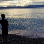 Fishing on Lake Garda