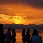 An italian sunset