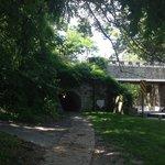 Bike Tunnel near Little Falls (shows C&O bike path bridge)