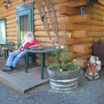 Even Santa likes the North Pole Cabins