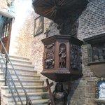 Striking stairway