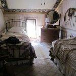Twin room, from the doorway