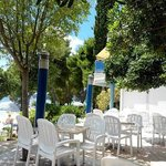 TERRACE OF ALL INCLUSIVE BAR