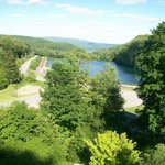 Beatiful view from Horseshoe Curve