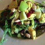 chicken salad! mmmm good....