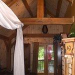 Interior of the studio cabin