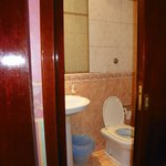 Bathroom-small but workable