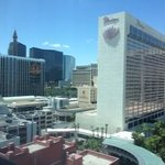 bit of a view of Vegas strip...great!