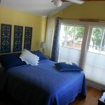 Medici Room - bedroom is bright and cheery
