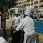 Chefs Poolside Fish Feast