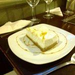 Mango, Lemongrass and Ginger cheesecake