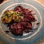 Great steak with balsamico