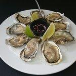 Assiette d' huîtres