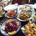 Légumes variés en entrée
