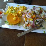 Puerto Rican style ceviche