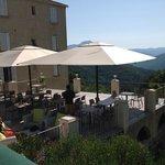 Vue panoramique -Terrasse U Frascone