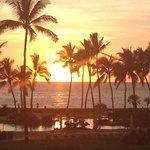 Sunset from Luana Lounge