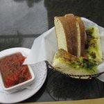 Cafe Fiore - Lovely warm Italian bread.