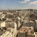 view from my room in tunis