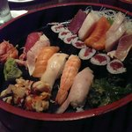 Sushi and sashimi combination: So fresh, so good, so fulfilling!