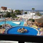 Pool / sea view