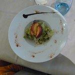 salade de saison (menu enfant)