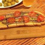 Bruschetta with anchovies