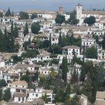 Mirador de San Nicolás desde La Alhambra - Enero 2012