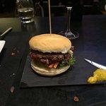 Hamburguesa de carne de cabra