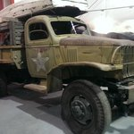 Truck used during construction of Alaska Hwy