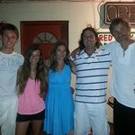 Guests from France- The Fouche Family