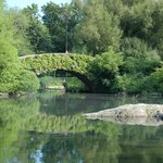 Gapstow bridge over lake