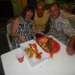 Mufungo lobster shrimp Leonardo and Fran and Anthony