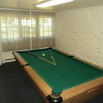 Billiard Room in the Tutor Stone House