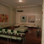 Modern style at Sonesta lobby.