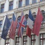 Bandeiras dos Controladores de Berlim ao fim da II Guerra