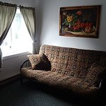 Futon in Family Room