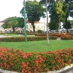 Praça em frente