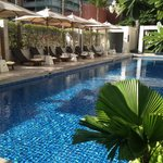 lovely pool to keep cool from the brutal Bangkok heat!