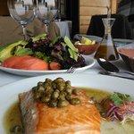 Maravilloso salmón