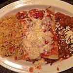 Chipotle Pork Enchiladas = Yum!! Stuffed with Tasty Pork!