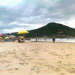 La playa de la posada