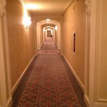 Lovely hall to our room