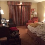 Nice size room for us. Liked having free wi-fi too.