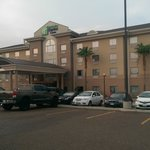 Front of Holiday Inn Hotel Express & Suites, Laredo, TX