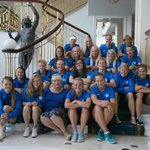 Estonia womens national football team in Reception area