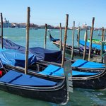 Gondolas in Grand Canal