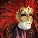 Masks are big in Venice.