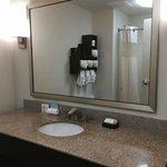 Nice bathroom amenities