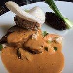 superbe thon sauce crevette